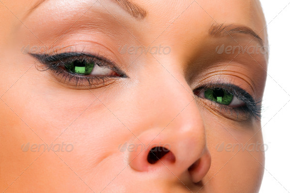 PhotoDune elegant woman with green eyes 4205700
