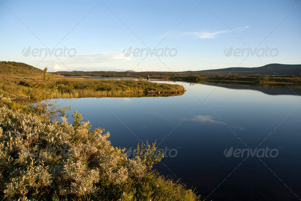 PhotoDune Lake landscape 4213527