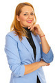 Cheerful young business woman - PhotoDune Item for Sale