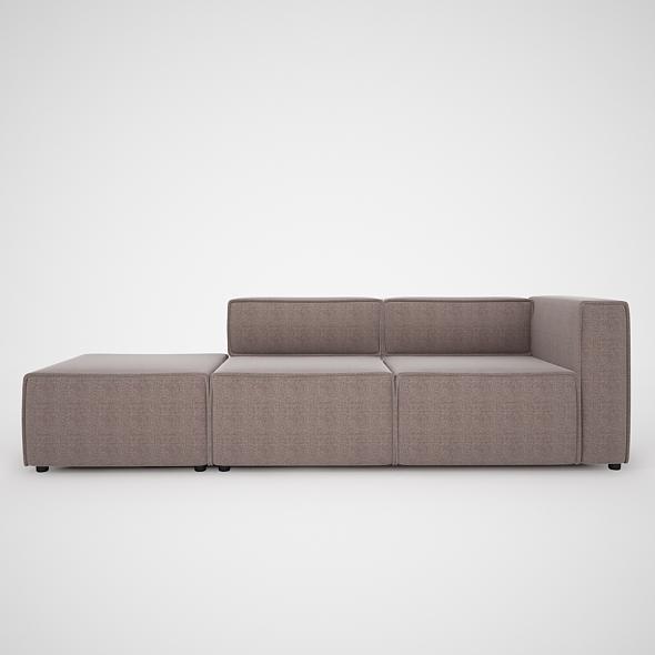3DOcean Modern Sofa-BoConcept 4214208