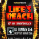 Life Is Beach Party Flyer Template - GraphicRiver Item for Sale