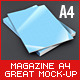 Magazine - Brochure A4 Mock-Up - GraphicRiver Item for Sale