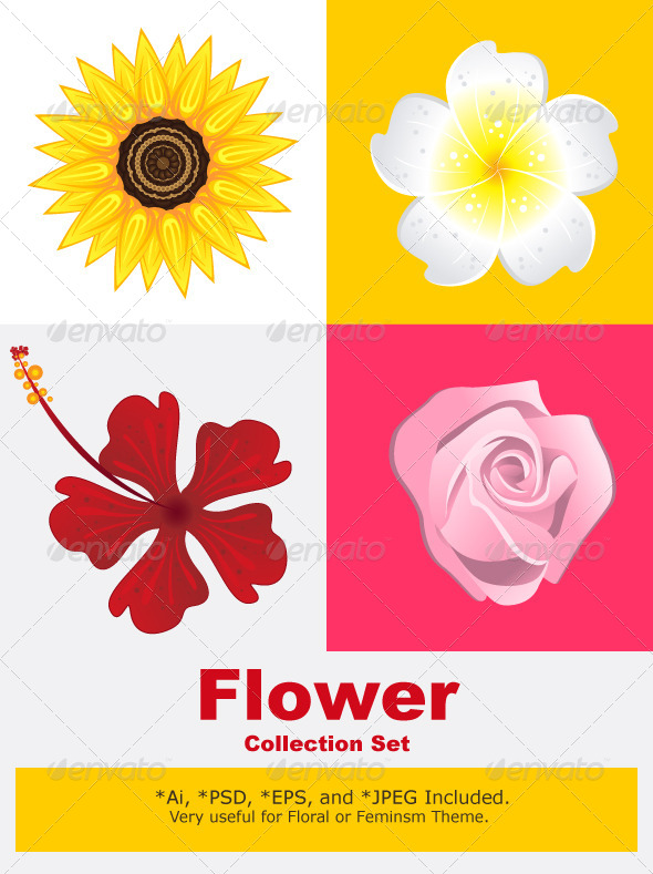 GraphicRiver Blossom Flower 4217523