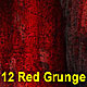12 Red Grunge Backgrounds - GraphicRiver Item for Sale