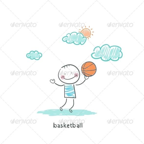 GraphicRiver Basketball Player 4220166