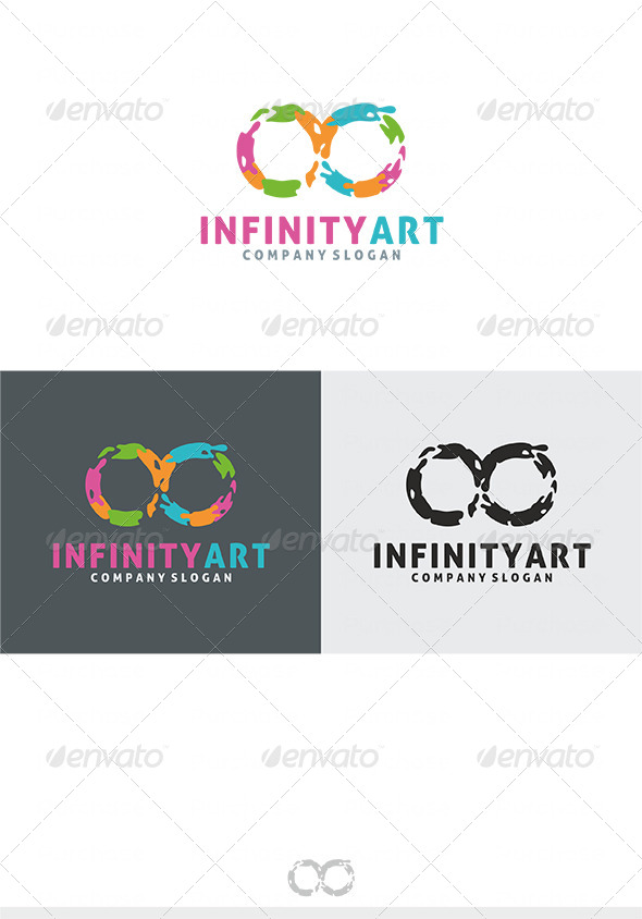 Infinity Art Logo - Vector Abstract