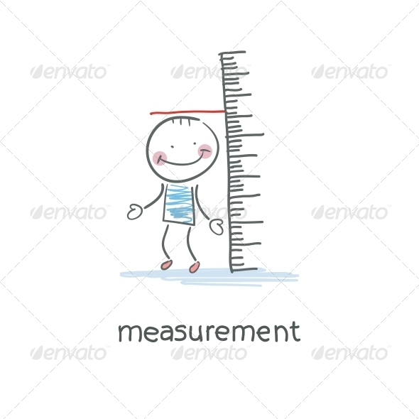 GraphicRiver Measurement of Growth Illustration 4220771