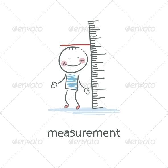 GraphicRiver Measurement of Growth Illustration 4220771