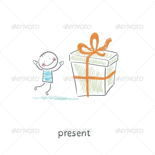 GraphicRiver A Man and a Gift 4220772