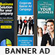 Corporate Banner Set Bundle 1.0 - GraphicRiver Item for Sale