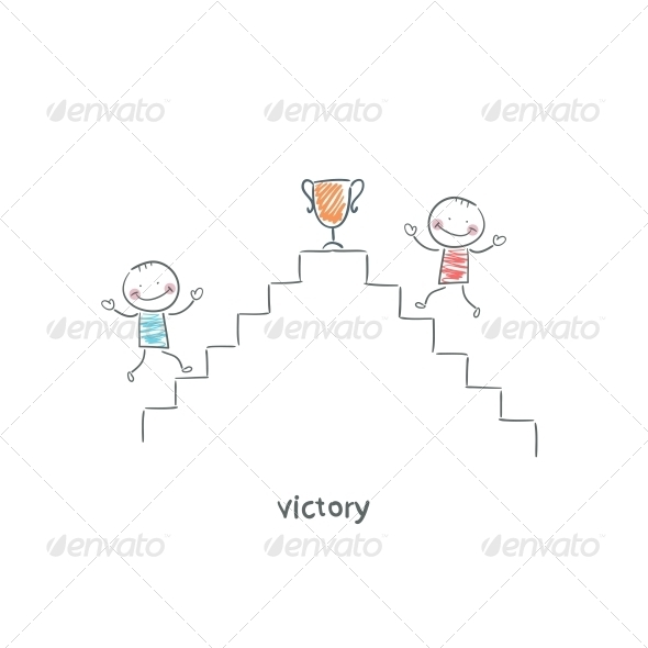GraphicRiver Victory Illustration 4220856