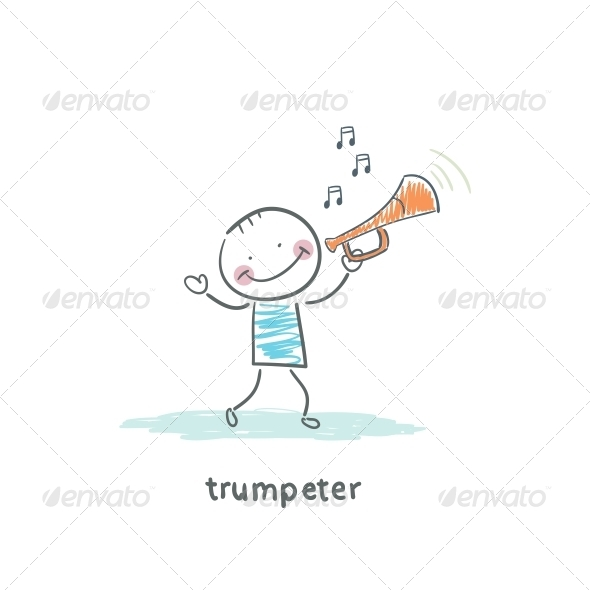 GraphicRiver Trumpeter 4220968