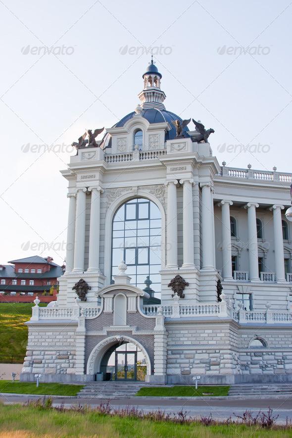 PhotoDune palace of farmers City Kazan Russia 4221011