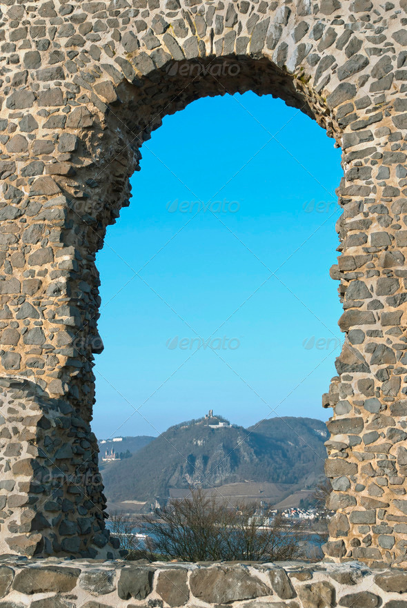 Roland's Arch - Stock Photo - Images