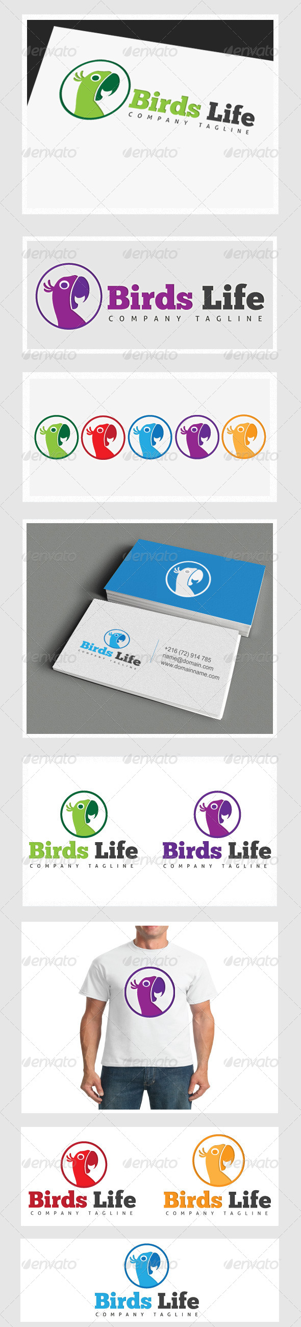 GraphicRiver Birds Life 4126781