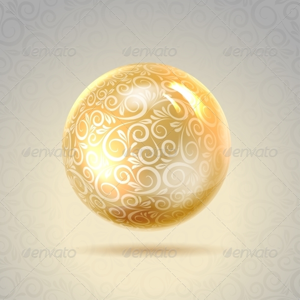 GraphicRiver Golden Shiny Perl 4223996