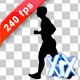 Running Silhouette - VideoHive Item for Sale