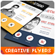 Creative Multipurpose Modern Flyers / Magazine Ads - GraphicRiver Item for Sale
