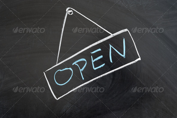 Open word - Stock Photo - Images