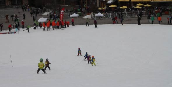 VideoHive Kids Ski Resort 4229091