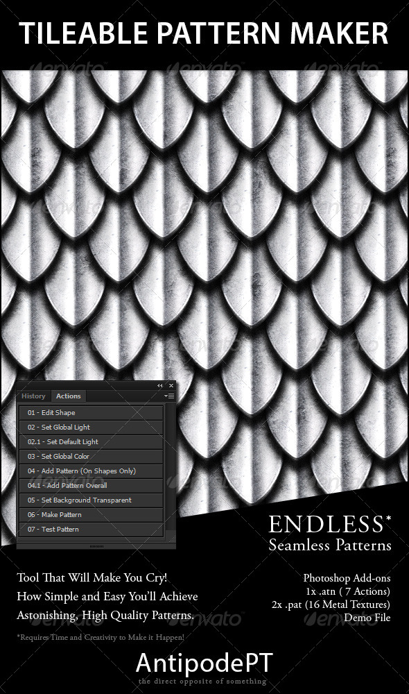 GraphicRiver Tileable Pattern Maker 4229472