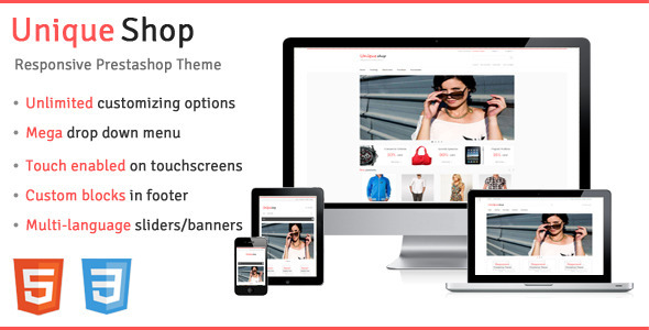 UniqueShop - Responsive Prestashop Theme - PrestaShop eCommerce