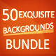 Exquisite Backgrounds - Bundle - GraphicRiver Item for Sale