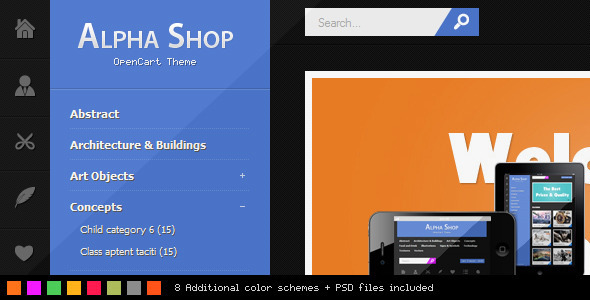 Alpha Shop - Entertainment OpenCart