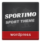 Sportimo - Sport &amp;amp; Events Magazine Theme - ThemeForest Item for Sale