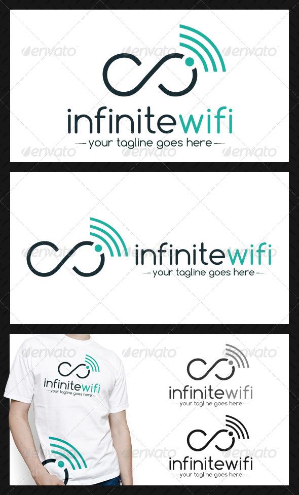 GraphicRiver Infinite Wifi Logo Template 4233464