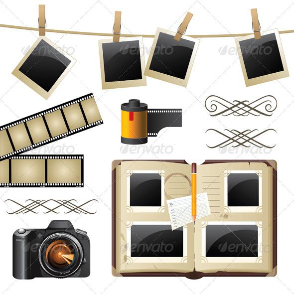 GraphicRiver Photography Set 4233596