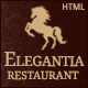Elegantia - Restaurant and Cafe HTML Template - ThemeForest Item for Sale