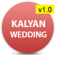 Kalyan One page HTML5 Wedding Template - ThemeForest Item for Sale