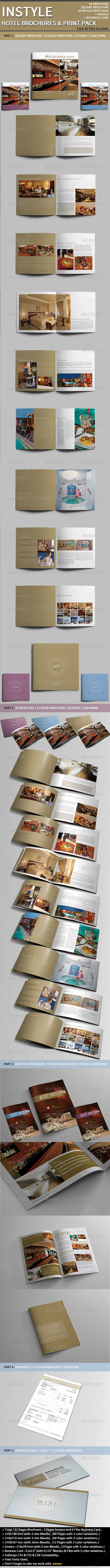 GraphicRiver InStyle Hotel Print Pack. 4235136