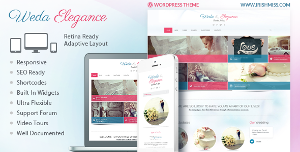 ThemeForest Weda Elegance Powerful Wordpress Theme 4235657