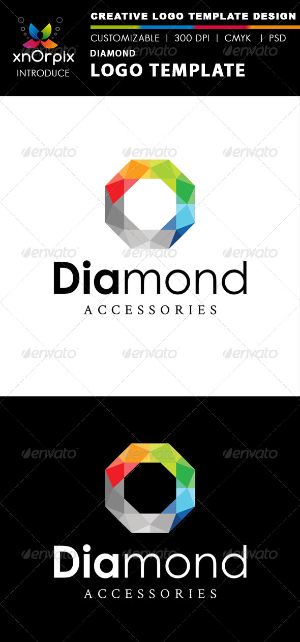 GraphicRiver Diamond Logo Template 2475653