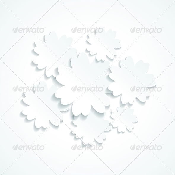 GraphicRiver Floral Background 4239314
