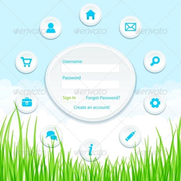 GraphicRiver Site Template Idea 4239316