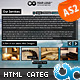 Fluxglide HTML Scroller with Categories and Links - ActiveDen Item for Sale