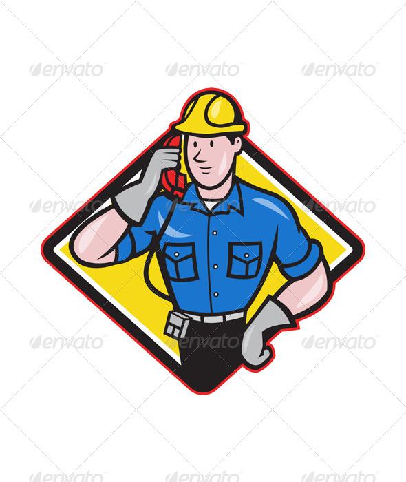 GraphicRiver Telephone Repairman 4243584