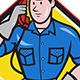 Telephone Repairman - GraphicRiver Item for Sale