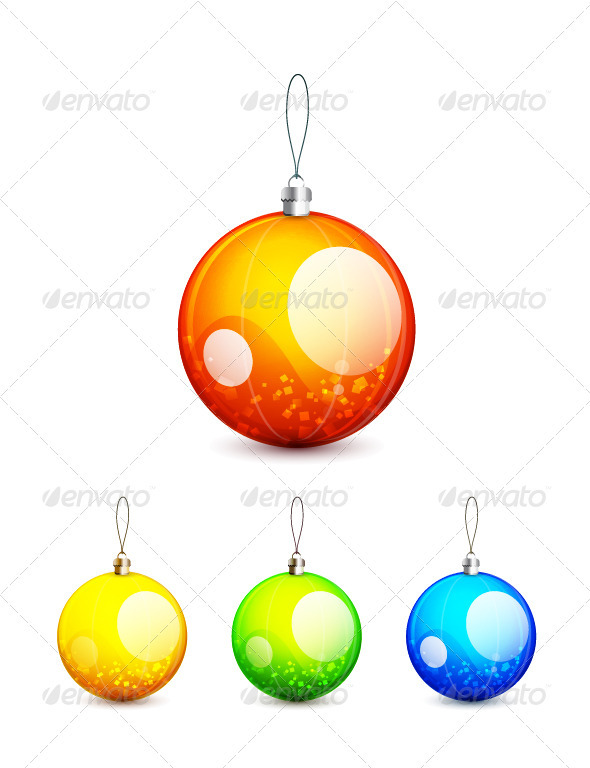 Christmas balls - New Year Seasons/Holidays