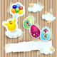 Easter Cards Set - GraphicRiver Item for Sale