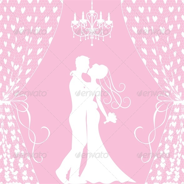 GraphicRiver Wedding Card Groom and Bride 4245841