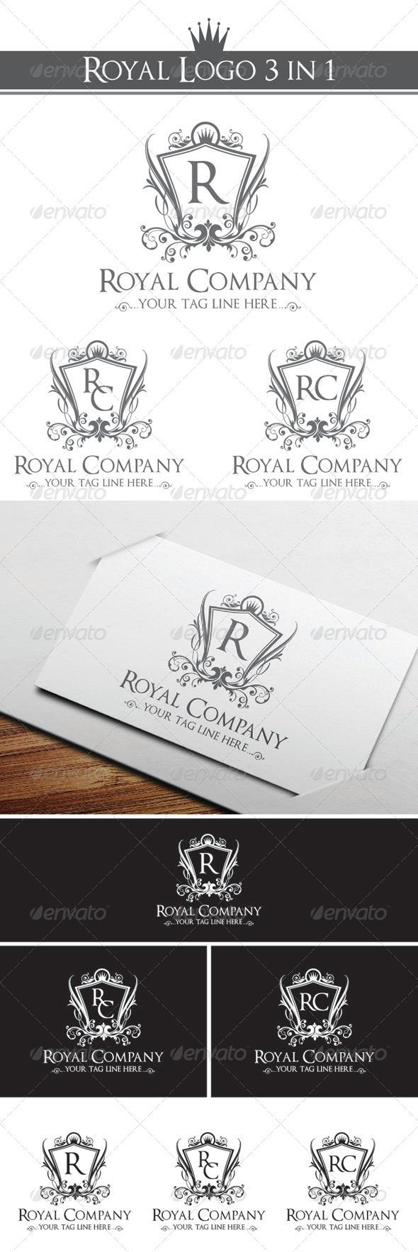 GraphicRiver Royal Company Logo Template 4246239