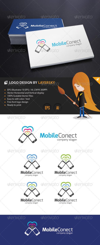 GraphicRiver Mobile Connect Logo 4246307