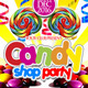 Candy Shop Party Flyer Template - GraphicRiver Item for Sale