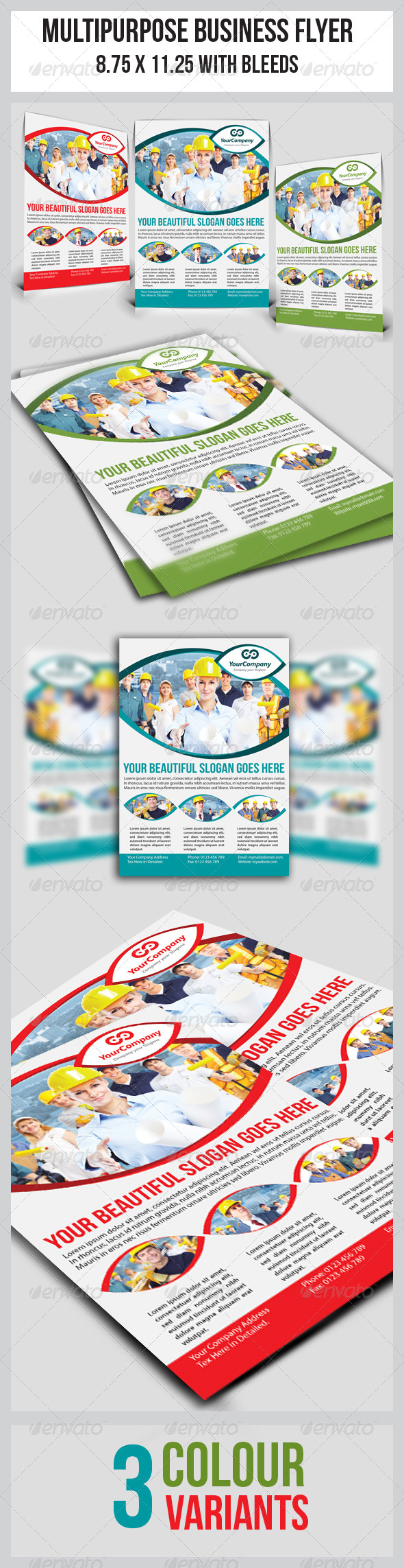 GraphicRiver Multipurpose Business Flyer 10 3767208