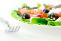 Plate with salad - PhotoDune Item for Sale