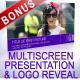 Multi Screen Presentation &amp;amp; Logo Reveal - VideoHive Item for Sale